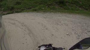 Schotterweg am Col de Finestre