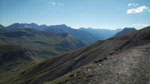 Blick vom Cime de la Bonette nach Süden