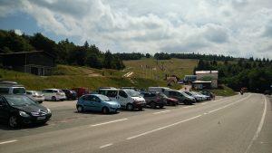 Passhöhe Col de la Schlucht