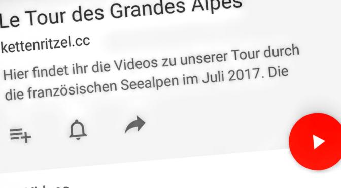 Alpenblitz 2017 – der Film