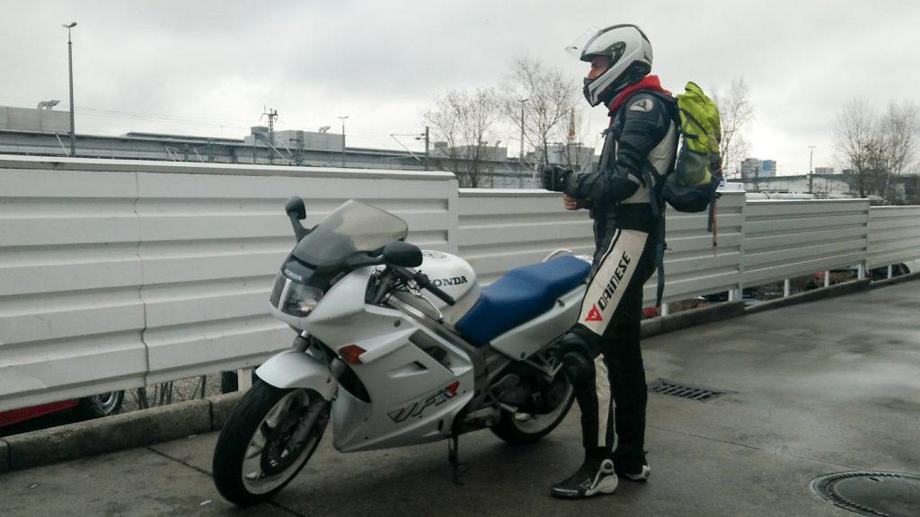 VFR und Fahrer renoviert.