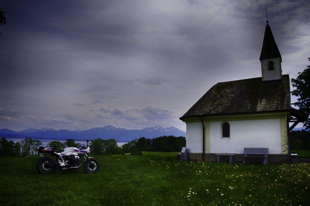Schalchen Kapelle am Chiemsee.