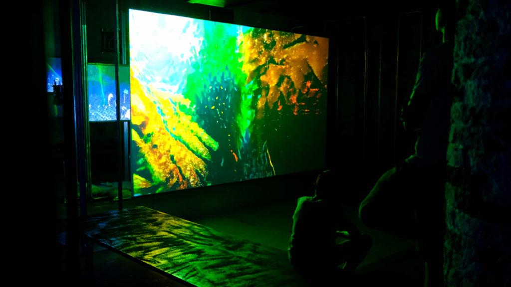 Kunstwerk von Hito Steyerl auf der Biennale 2019