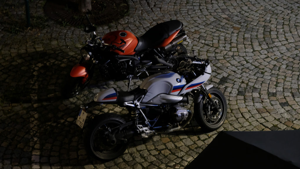 SpeedTriple und RnineT auf dem Marktplatz in Bad Lobenstein