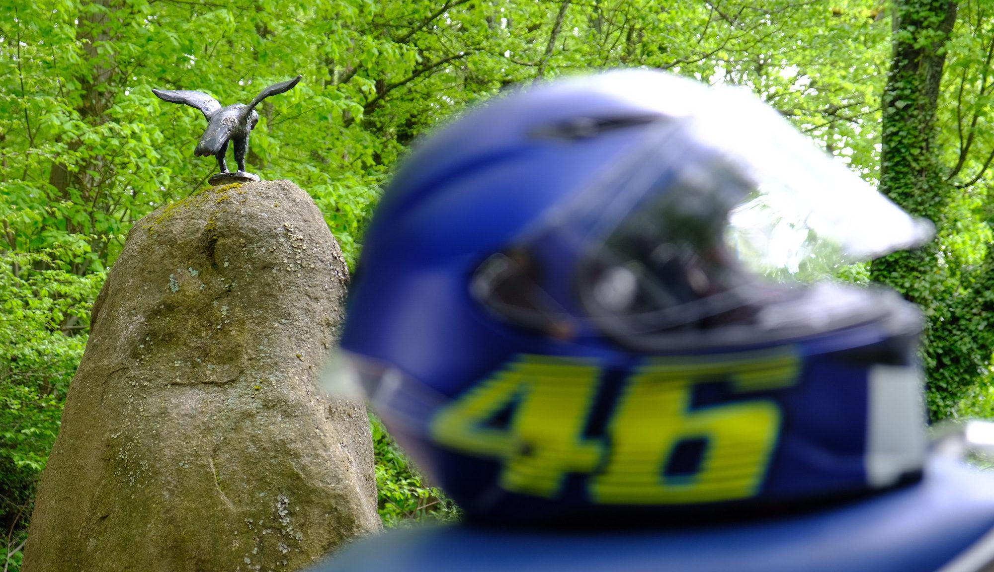 Helm vor Falkenstein